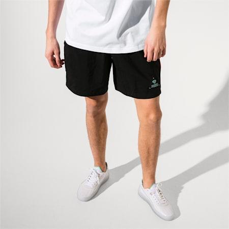 PUMA x DIAMOND Men's Shorts, Puma Black, small-IND