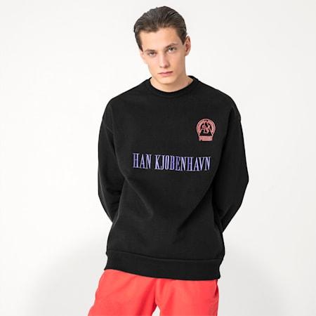 PUMA x HAN KJØBENHAVN Men's Sweater, Puma Black, small-SEA