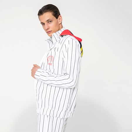 PUMA x HAN KJØBENHAVN Men's Track Jacket, Puma White, small-SEA