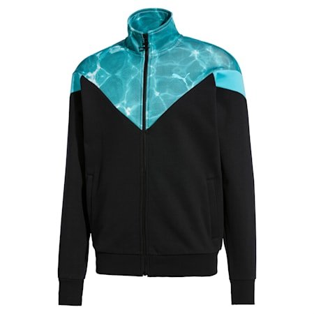 MCS POOL Men's Track Jacket, Puma Black, small-SEA