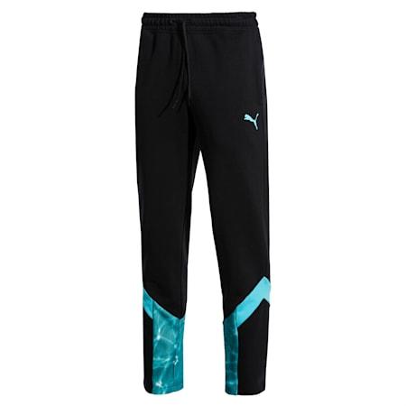 MCS POOL Men's Track Pants, Puma Black, small-SEA