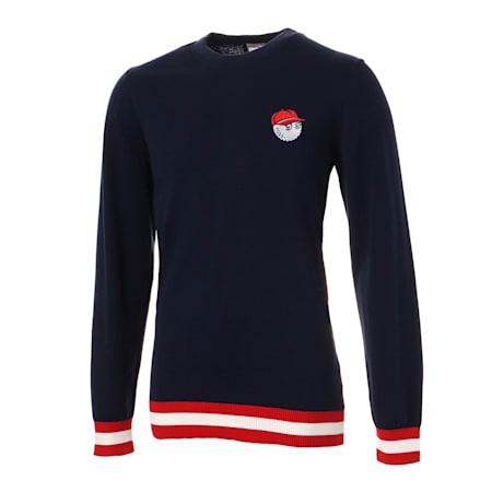ゴルフ マルボン セーター, Peacoat, small-JPN