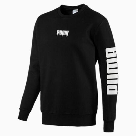 SUPER PUMA Sound Men's Crewneck Sweatshirt, Puma Black, small