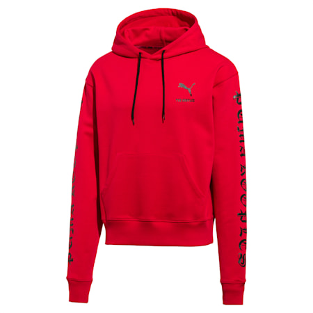 PUMA x THE KOOPLES Men's Hoodie, High Risk Red, small