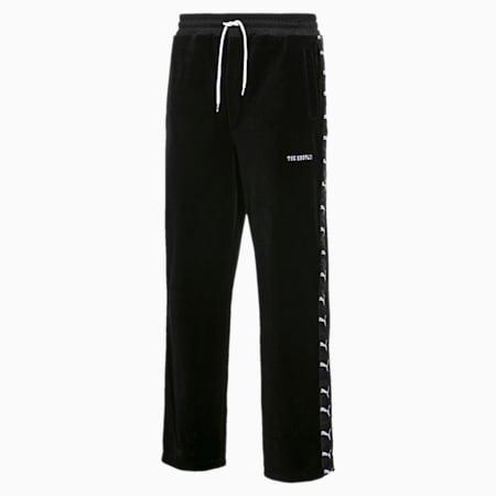 PUMA x THE KOOPLES Men's Velour Track Pants, Puma Black, small