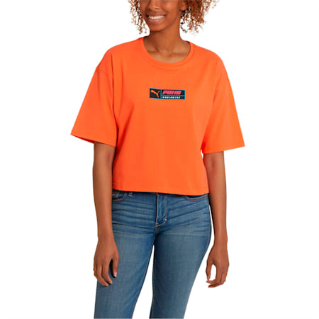 Trailblazer Women's Tee, Nasturtium, small