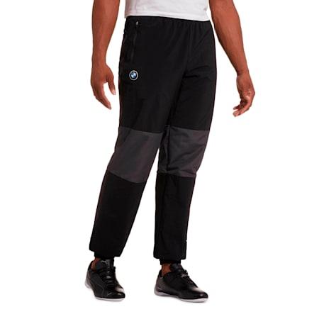 BMW M Motorsport Men's Woven Pants, Puma Black, small