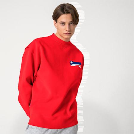 PUMA x ADER ERROR Crew Neck Pullover, Puma Red, small