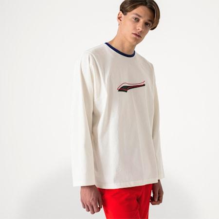PUMA x ADER ERROR Long Sleeve Shirt, Whisper White, small-SEA