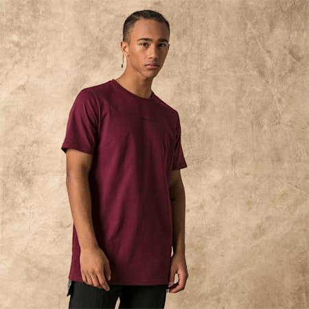 PUMA x LES BENJAMINS Tシャツ, Burgundy, small-JPN