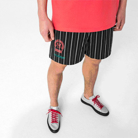 PUMA x HAN KJØBENHAVN Woven Men's Shorts, Puma Black, small-SEA