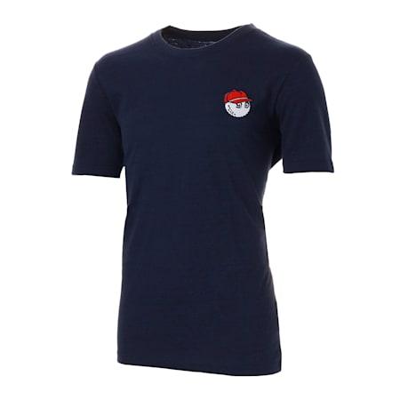 ゴルフ マルボン ティーシャツ, Peacoat, small-JPN