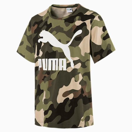 WILD PACK SS Tシャツ AOP, Forest Night, small-JPN