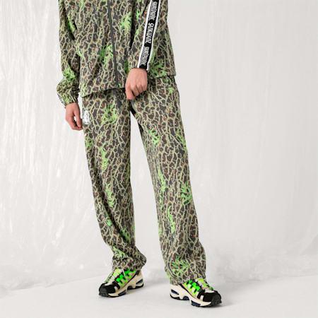 PUMA x SANKUANZ TRACK PANTS, -Fluro Green, small-JPN