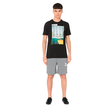 Graphic Photo Tee, Cotton Black, small-IND