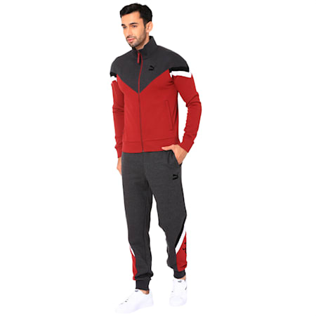 PUMA x one8 Virat Kohli Men's Jacket, Pomegranate, small-IND