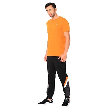 PUMA x one8 Virat Kohli Men's T-Shirt, Buckthorn Brown, small-IND