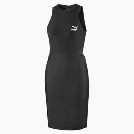 Damska sukienka Classics z wycieciami, Puma Black, small