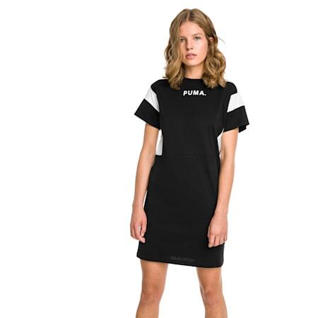 CHASE ウィメンズ ドレス, Cotton Black, small-JPN
