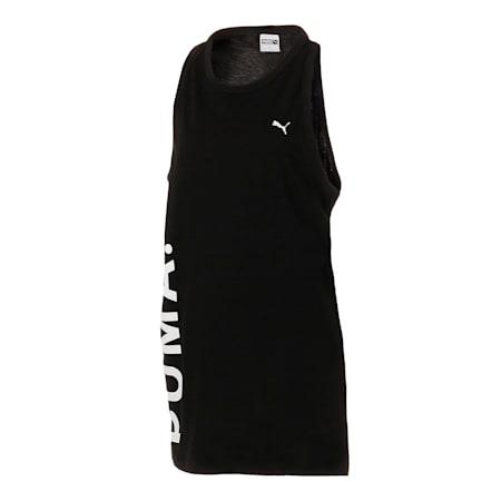 CHASE ウィメンズ タンクドレス, Puma Black, small-JPN