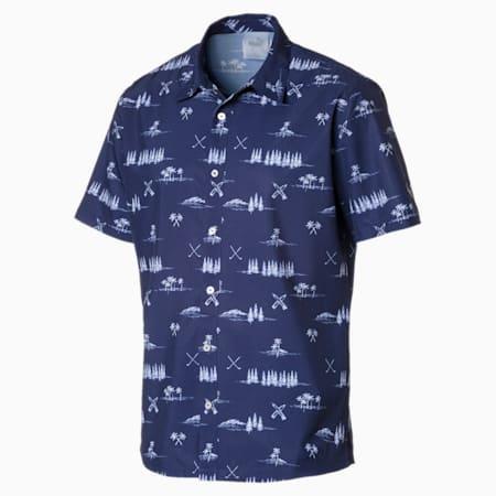 Paradise Men's Shirt, Peacoat, small-SEA
