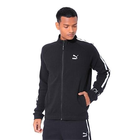 PUMA x Virat Kohli Men's Sweat Jacket, Puma Black, small-IND