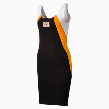 '90s Retro Women's Dress, Puma Black, small