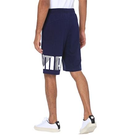 Summer Logo Shorts, Peacoat, small-IND