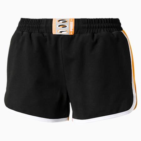 '90s Retro Shorts Women's Shorts, Puma Black, small