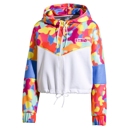 PUMA x BARBIE XTG Women's Track Jacket, Puma White, small