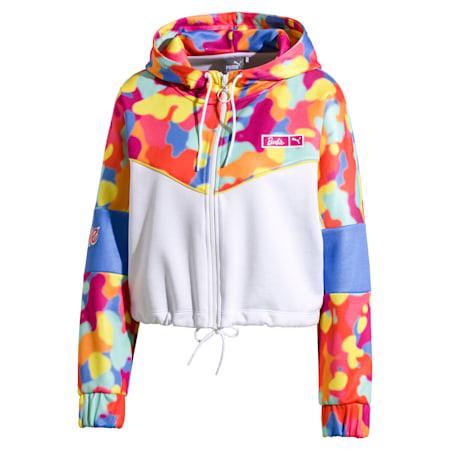 PUMA x BARBIE XTG Women's Track Jacket, Puma White, small-SEA