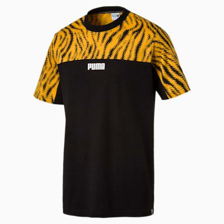 WILD PACK AOP Tシャツ, Golden Orange, small-JPN