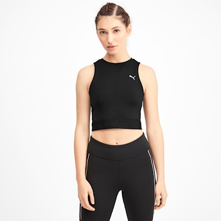 SG x PUMA Crop Top, Puma Black-Puma Black, small