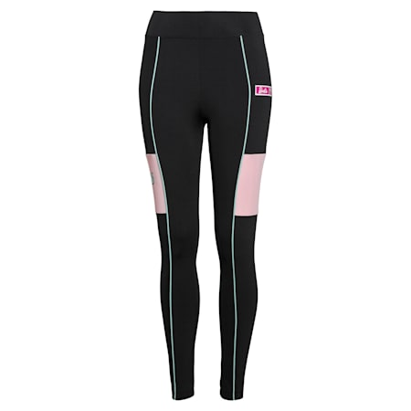 PUMA x BARBIE Women's Leggings, Puma Black, small