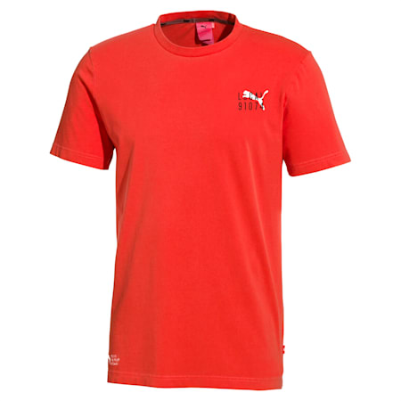 PUMA Men's Short Sleeves Tee, High Risk Red, small-SEA