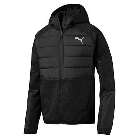 Evostripe Hybrid Style Water Repellent Men's Jacket, Puma Black, small-IND