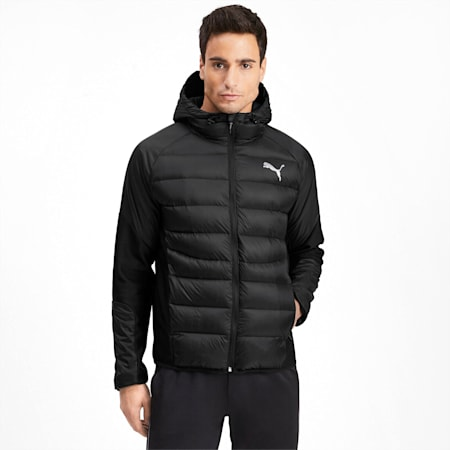600 Hybrid Men's Down Jacket, Puma Black, small