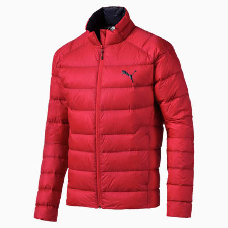 PWRWarm packLITE 600 Down Men's Jacket, High Risk Red, small-IND
