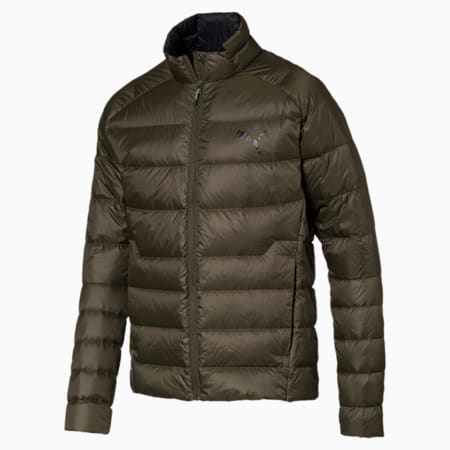 PWRWarm packLITE 600 Down Men's Jacket, Forest Night, small-IND