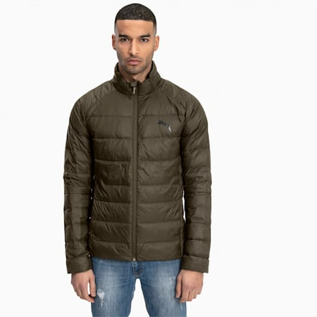 PWRWarm packLITE 600 Down Men's Jacket, Forest Night, small