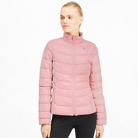 PWRWarm packLITE 600 Down Women's Jacket, Bridal Rose, small