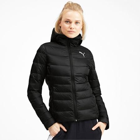 PWRWarm packLITE Down Women's Jacket, Puma Black, small-IND