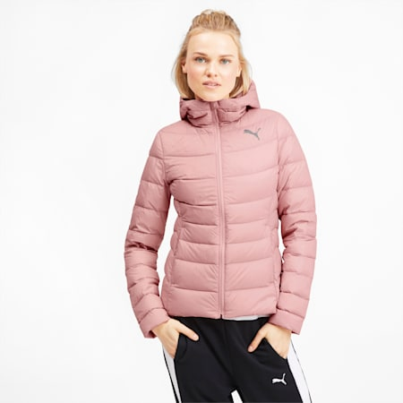 PWRWarm packLITE Down Women's Jacket, Bridal Rose, small