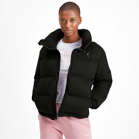 480 Style Down Women's Jacket, Puma Black, small-IND