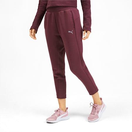 Evostripe Reflective Tec Women's Sweatpants, Vineyard Wine, small-IND