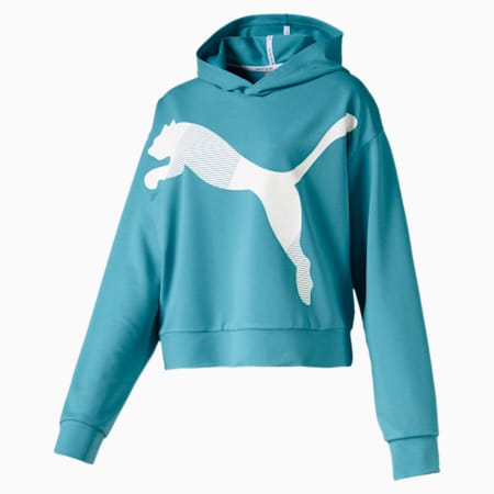Modern Sports Women's Hoodie, Milky Blue, small