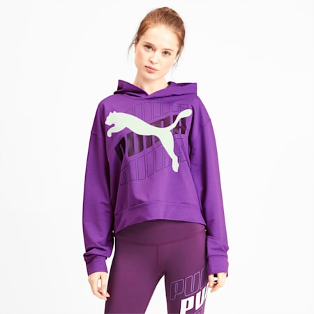 Modern Sports Women's Hoodie, Royal Lilac, small