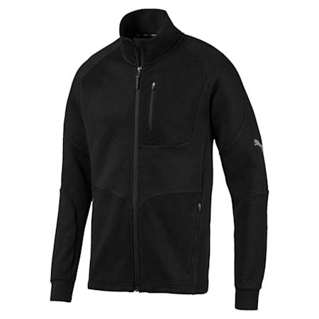 Evostripe Long Sleeve Men's Jacket, Puma Black, small-IND
