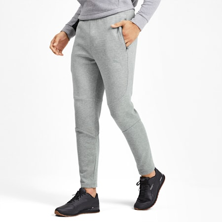 Evostripe Men's Pants, Medium Gray Heather, small