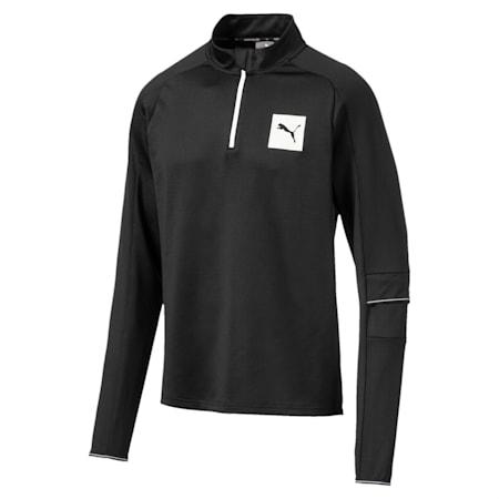 Tec Half Zip Men's Pullover, Puma Black, small-IND